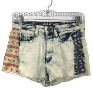 Mossimo Denim High Rise Shorts - Size 5 / 7 USA